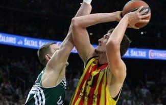 Pleiss y Abrines sostienen al Barça en Kaunas. Sigue en la lucha por el 1er puesto