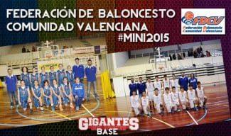 #Mini 2015; plantillas de la  Comunidad Valenciana