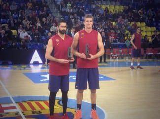 Así fue la entrega de los Premios Gigantes a Mejor Jugador Nacional y Extranjero: Navarro y Doellman (Vídeo)