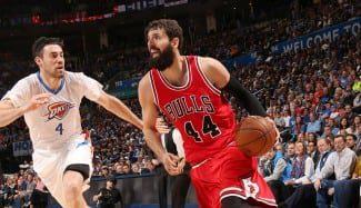 Mirotic, líder de los Bulls con 27 puntos pero insuficiente para hacer frente a Westbrook