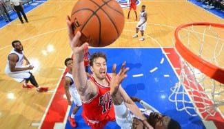 Pau y Mirotic comparten titularidad interior por 1ª vez para salvar a los Bulls (Vídeo)