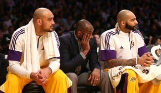 Los Lakers, de capa caída: segunda vez fuera de los playoffs dos años seguidos