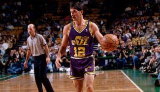 Así era el máximo asistente de la NBA, John Stockton: regalando 28 canastas…