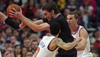 Mirotic (24) y Pau Gasol (19) se exhiben ante los peores Knicks de la historia (Vídeo)