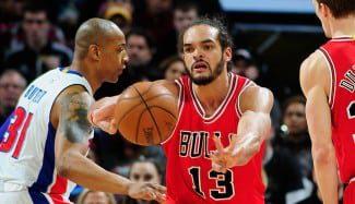 Los Bulls caen en Detroit tras desperdiciar una renta de 19. Noah: «Al final apestamos»
