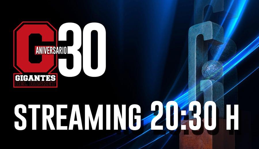 Entrega de Premios Gigantes del Basket en streaming