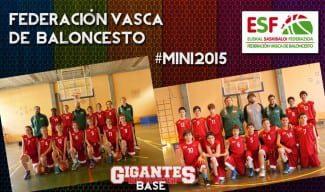 #Mini 2015; plantillas de País Vasco