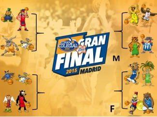 Estos son los cuartos de final en la Copa Colegial & Bifrutas de Madrid