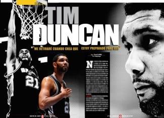 Gigantes entrevista en exclusiva a una leyenda en activo de la NBA, Tim Duncan