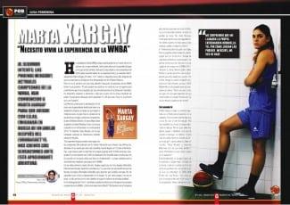 Xargay, ante un nuevo reto: triunfar en las campeonas WNBA. Lo cuenta en la Gigantes de marzo