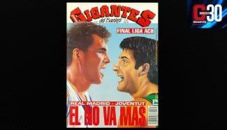 La última final ACB del Joventut, hace 22 años ante el Madrid de Sabonis