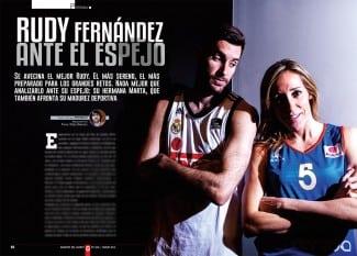 El mejor Rudy Fernández, a corazón abierto en la revista Gigantes