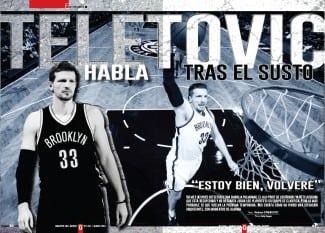 Gigantes entrevista a Mirza Teletovic tras el susto de su embolia pulmonar