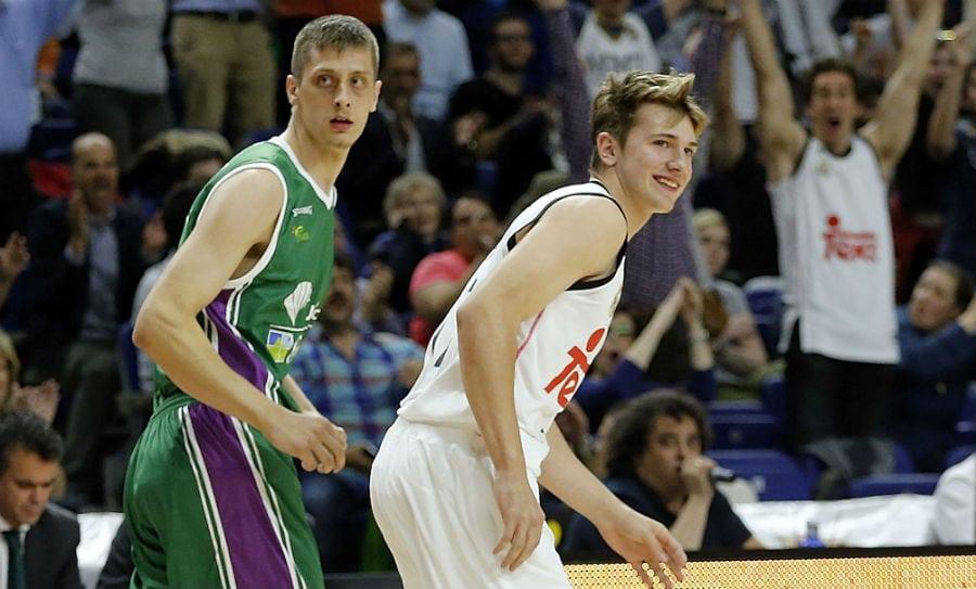 Luka Doncic, debutante más joven de la historia del Madrid y tercero de la ACB (Vídeo)
