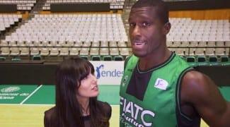 Sitapha Savané, padrino del equipo CB Lliça d´Amunt. 8º historia Basket Lover
