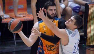 El jugador franquicia del Valencia Dubljevic pide paciencia, pero reconoce que deben mejorar