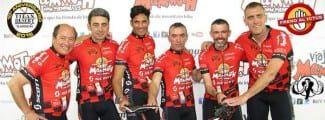 El ex internacional Iñaki de Miguel, pedaleando por una buena causa en la Titan Desert: Freno al ictus