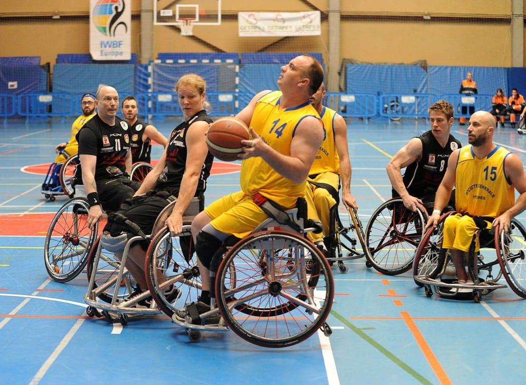 Goldmann Dolphins Trier Campeón de Europa tras derrotar al  Hyere Handiclub por 69 a 95.