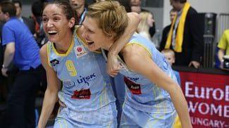 Laia Palau gana su 2ª Euroliga. El USK Praga frenó al Ekaterinburg de Alba y Silvia