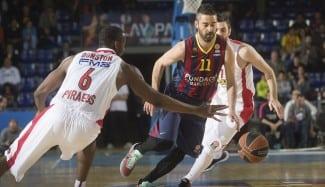 """Navarro: """"El arbitraje, decisivo. Cuando Olympiacos juega en el Palau no nos pitan así"""""""