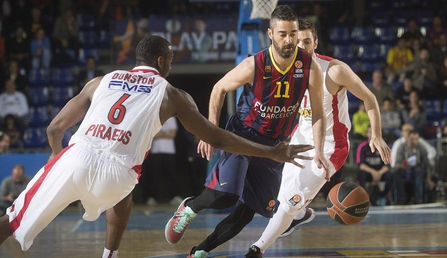Navarro: «El arbitraje, decisivo. Cuando Olympiacos juega en el Palau no nos pitan así»
