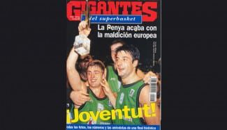 Hoy hace 21 años de que la Penya fue campeona de Europa. La final íntegra, aquí