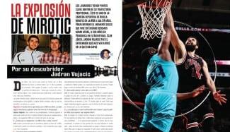 Explosión NBA de Mirotic. Su descubridor Jadran Vujacic la explica en Gigantes