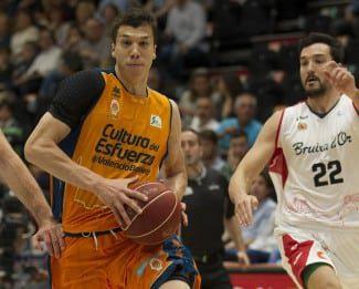 Valencia vence a Manresa. Fuenla sorprende a Baskonia y Sevilla gana a Unicaja