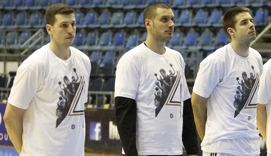 El Partizan se pone camiseta de apoyo al lesionado Davis Bertans