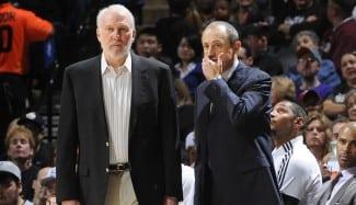 Messina dirigirá hoy y mañana a los Spurs: Popovich, baja por un problema familiar
