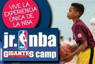 NBA y Gigantes del Basket organizarán el primer JR NBA Gigantes Camp en Estepona