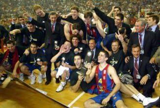 Hoy se cumplen 12 años de la primera Euroliga del Barça. Navarro, Jasikevicius, Bodiroga…