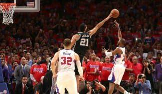 ¡Fiesta en Los Ángeles! Game winner de Chris Paul para tumbar a los campeones Spurs