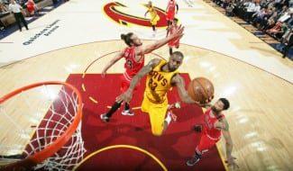 LeBron (38 puntos) noquea a los Bulls que sin Gasol quedan al borde de la eliminación