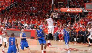 Los Rockets liquidan a los Clippers. 9º equipo que remonta un 1-3 (Vídeo)