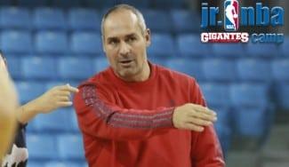 Curro Segura: «El JR NBA Gigantes Camp no es un campus normal: se inculcan los valores NBA»