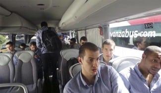 Fenerbahçe, el más madrugador. Ya está en Madrid para la F4. Así ha sido su llegada (Fotos)