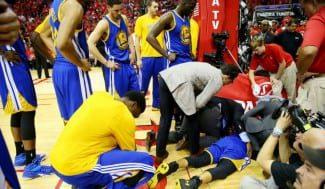 """Curry, sobre su trompazo: """"Lo he visto una vez y ya es suficiente"""" (Vídeo)"""