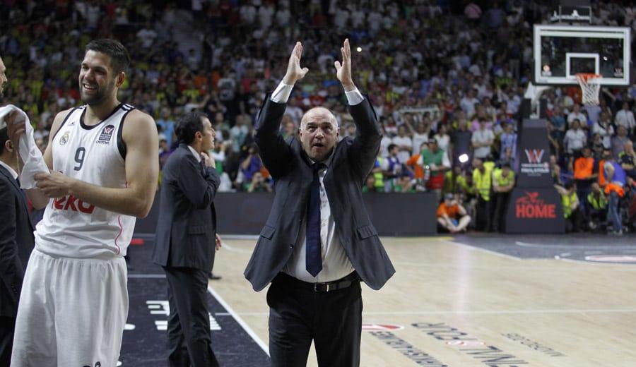 Pablo Laso: «El madridismo se acordará siempre de esta temporada»