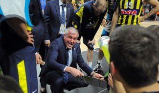 """Obradovic no se fía del Madrid: """"Jugamos contra el campeón y le respetamos"""""""