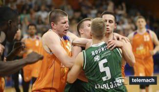 Sorpresa y bronca en Eslovenia. El Helios (7º) se carga al Olimpija (1º) en cuartos (Vídeo)