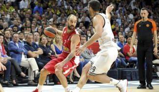 De clínic. Así fue la asfixiante defensa del Madrid sobre Spanoulis en la final de Euroliga