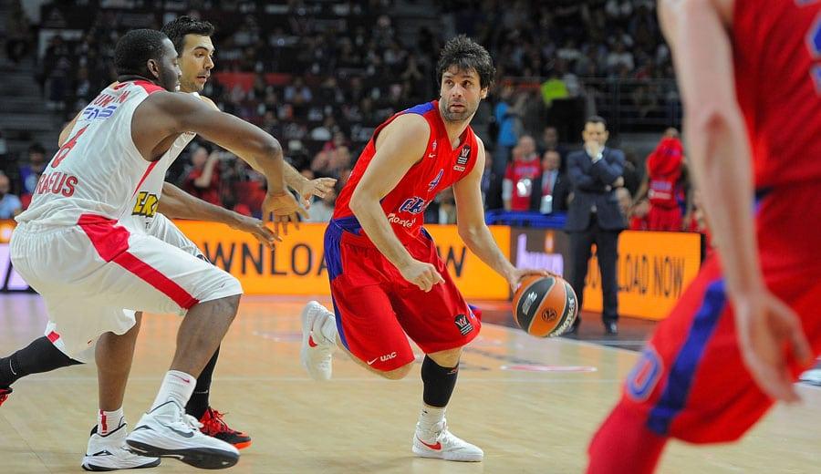 """Milos Teodosic, 0/6 Final Four: """"Espero que sea el último fracaso del CSKA"""""""