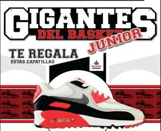 No te lo pienses y despega con las nuevas Nike Air Max 90 gracias a Foot Locker y Gigantes Junior