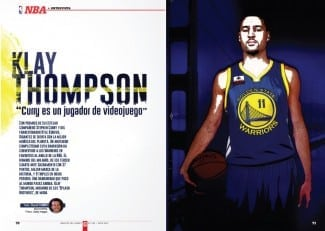 """Klay Thompson, a Gigantes: """"Curry es un jugador de videojuego»"""
