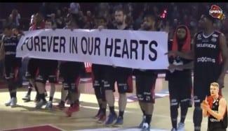 Sentido homenaje del Charleroi a Rasmus Larsen: 'Para siempre en nuestros corazones'
