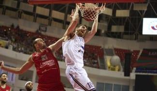 Claver, 16 puntos ante el Lokomotiv. El Khimki, al borde de la eliminación (Vídeo)