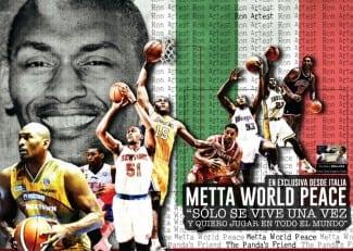 """¡Exclusiva! Gigantes, con Metta World Peace: """"Yo represento el máximo nivel"""""""