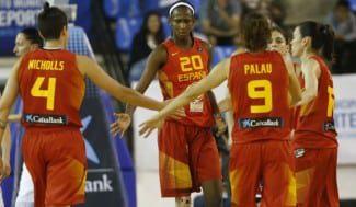 Convincente debut en el Eurobasket ante Lituania (72-58). Brillante Astou (22+12)