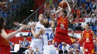 La dura defensa de Francia deja a España sin final (63-58). El bronce, contra Bielorrusia